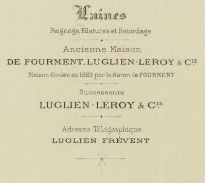 DE FOURMENT - logo des filatures - petit