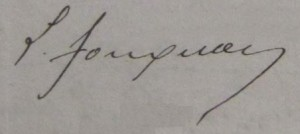 signature - Léonce Fougeron
